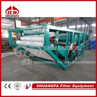 Fully Automatic Belt Filter Press Machine For Tannery Sludge Dewatering Processing
