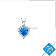 Fashionable New Design Love Heart of Ocean Necklace