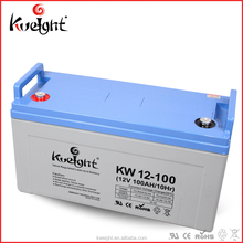 Kweight Rechargeable Battery 12V 100Ah Lead Acid Solar Battery