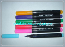 China factory professional non-toxic high quality washable marker pens for tatoo use