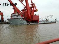 TTS-1269 3500 dwt Heavy goods deck barge for sale