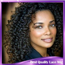 Hot selling long afro kinky hair full lace wig,100% unprocessed virgin Mongolian hair kinky curly lace wig