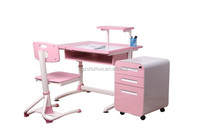 Hot selling fashion Shcool student desk and chair interest in learning to dubai-F
