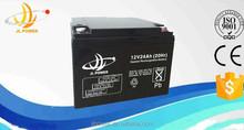 high quality lead acid battery 12v 24ah electric bike battery, cheap price and high quality 12v 24ah battery.