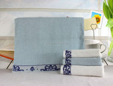 high quality 100% cotton face towels