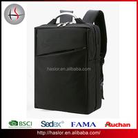 Black color newest custom laptop average size of backpack