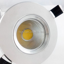 new design dull polished dispersing lens cob led downlight