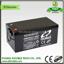 2015 new products electronics lead acid china enterprise 24v 250ah