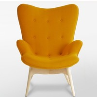 Elegant Clover Shape Grant featherston contour lounge chair
