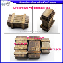 Wooden Puzzle Game Box, Indian Puzzle Box, Indoor Wooden Game
