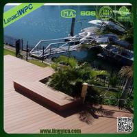 waterproof fireproof wpc groove composite outdoor decking