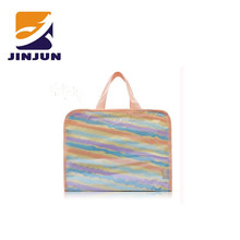 Travel or business trip PVC comestic wash bag & shopping bag & gift bag with handle