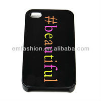 Fashion Cheap Beautiful Hard Plastic One Direction Phone Case For Apple Mobile