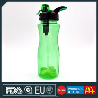 tea filter bottle with mesh strainer,bpa free filter water bottle,plastic portable filter water bottle