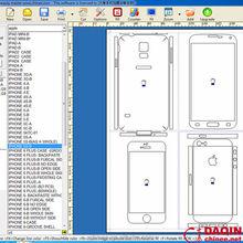 Cell phone 3d design software for vinyl printer plotter cutter