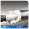 3 Inch fireproof insulation Calcium Silicate Pipe Cover