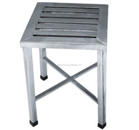 Square Stool Made by Stainless Steel
