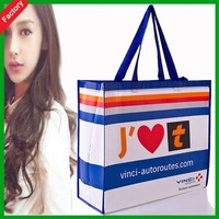 Great New Design PP Bread NONWoven Bags for Food Shopping