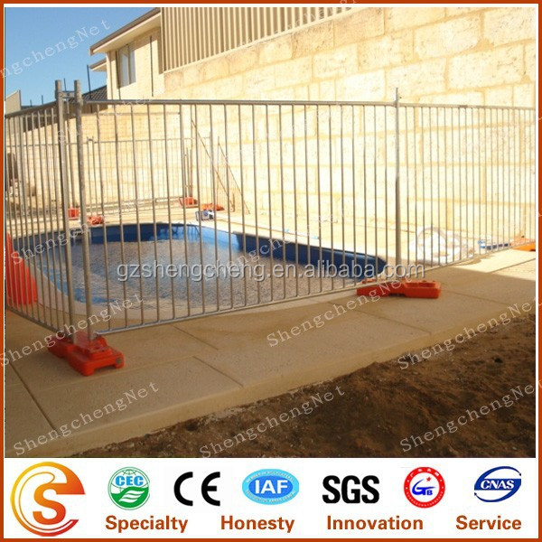 Removable pool fence site privacy public safety temporary