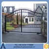 Removable Faux Black Automatic Metal Gate For Garden Factory