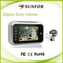 super pantalla digital comprar peephole espectador frente a la puerta de la cámara