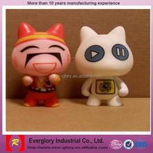 OEM anime vinyl toy ,cartoon characters vinyl toy, custom making vinyl toy
