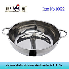 nee pop stainless steel divider hot pot Guangdong