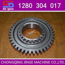 Transmission reverse gear 1280304017 for Hyundai bus spare parts of Thailand city bus