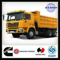 European origin shacman F3000 SX3254JS464 10 wheel sand tipper truck for sale