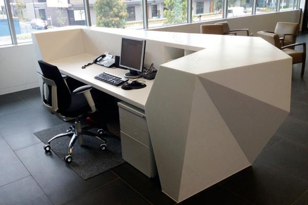 인공 돌 현대 임원 책상 사무실 테이블 디자인-리셉션 데스크 ...