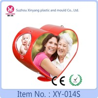 Sweet heart shape love photo frame, heart acrylic photo frame