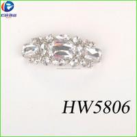 China factory wholesale crystal white rhinestone high heel wedding shoes