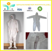 2015 New arrival PP/Polypropylene Nonwoven Disposable Coverall / Protective Clothing Manufacturers Overseas