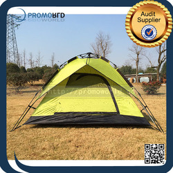 Custom Outdoor Products Quick Open Double Layer Wind Resistant Camping Tent