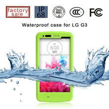 For LG G3 TPU Cell Phone Waterproof Case