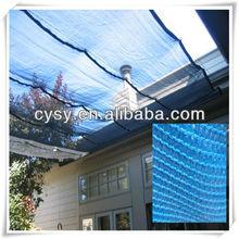 Large size brown retractable HDPE Shade cloth & waterproof sun shade sail