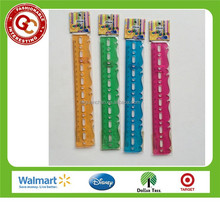 Advertising custom 20cm transparent straight plastic ruler