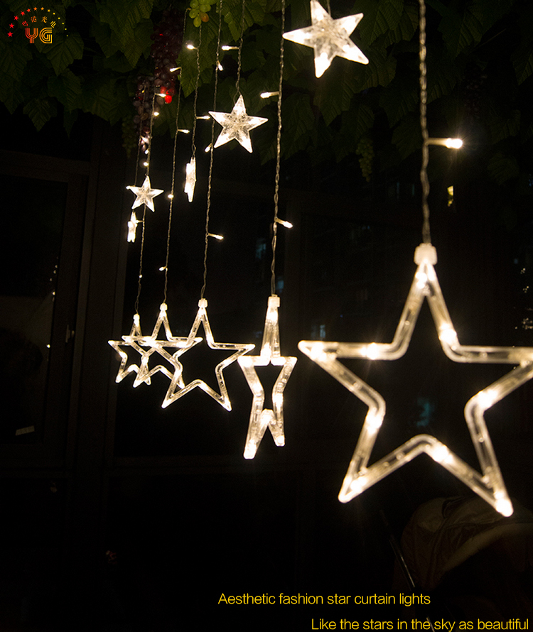 christmas star lights holiday home decoration star light 2jpg