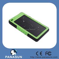 Best Selling Power Bank Handy Waterproof 8000mah with solar panel
