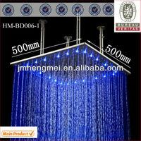 bathroom led rain shower 20 inches big top bathroom led rain shower