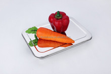 stainless steel mirror polish lunch tray divided plates lunch dishes