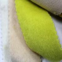 2015 Fashionable Polyester Stand Plush Coat Fabric