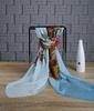 Small MOQ 100% silk chiffon scarf manufacturer China