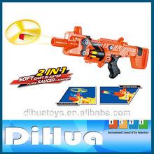 2 1 en bo platillo volador lanzador <span class=keywords><strong>de</strong></span> dardos <span class=keywords><strong>de</strong></span> <span class=keywords><strong>espuma</strong></span> <span class=keywords><strong>pistola</strong></span>