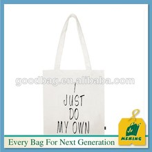 Durable customized logo printing cheap eco canvas tote bag ELE-CN0647 women bags
