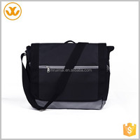 Simple styles black portable long strap shoulder tote bags
