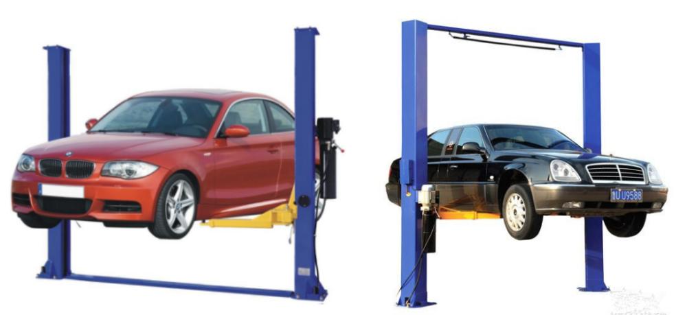 Haute qualit garage hydraulique ascenseur de voiture 2 apr s 4 t pour station service de - Garage ascenseur pour voiture ...