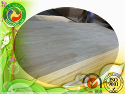 Rubber wood finger joint board/panel