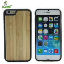New Soft TPU Bumper Mobile Cover Bamboo And Wood Case For iPhone 6