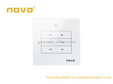 NOVO 868MHz A3 touch screen Radio remote control RF transmitter receiver for motorized curtain /roller blinds and venetain blind